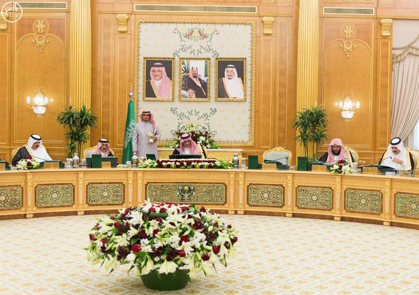 نائب خادم الحرمين الشريفين يرأس جلسة مجلس الوزراء