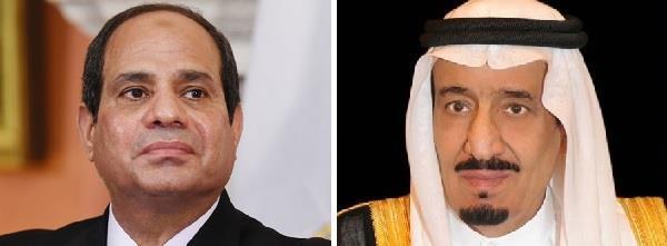 خادم الحرمين يجري اتصالا هاتفيا بالرئيس المصري