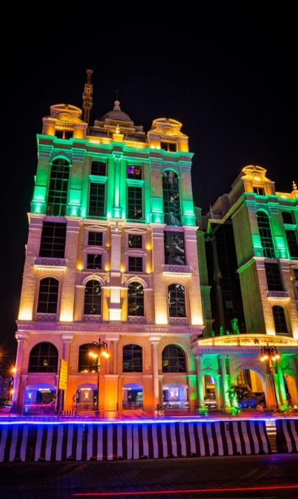 الرياض تشارك الإمارات احتفالاتها اليوم الوطني