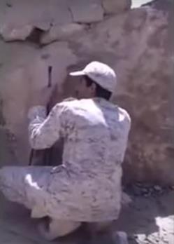 جنود سعوديين مع الحوثيين