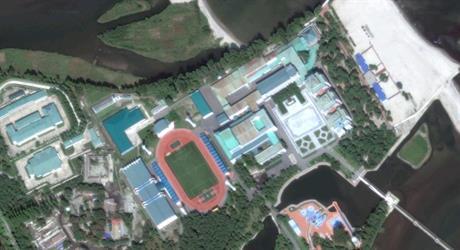 """صور فضائية ترصد """"الجنة السرية"""" لزعيم كوريا الشمالية"""