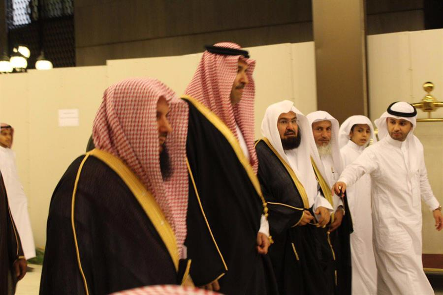 بالصور.. الشيخ السديس يحتفل بزواج ابنه صهيب