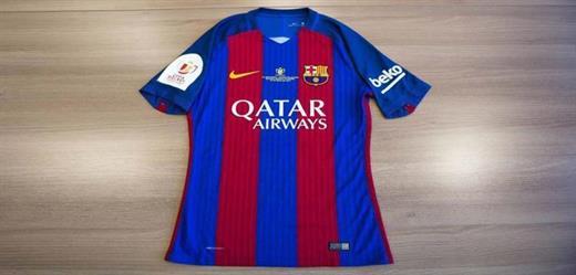 قميص خاص لبرشلونة في نهائي الكأس