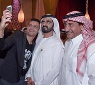 ناصر القصبي و رامز جلال في حفل إفطار الشيخ محمد بن راشد