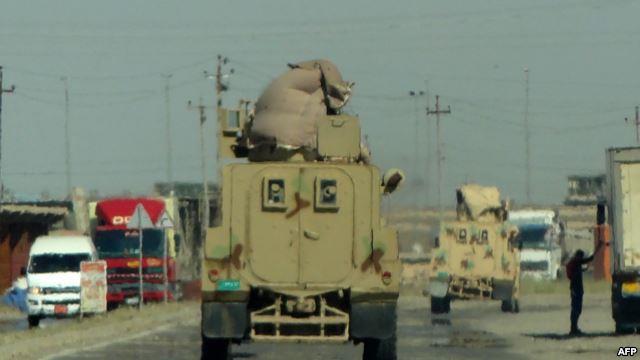 الجيش العراقي يواصل ملاحقة المسلحين في الأنبار