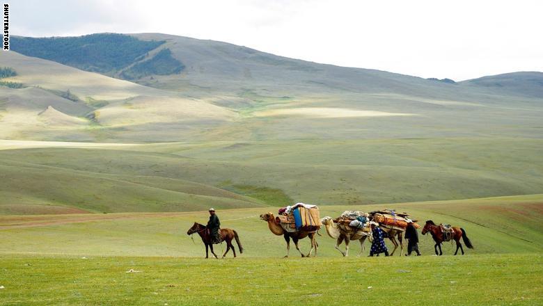منغوليا المركزية
