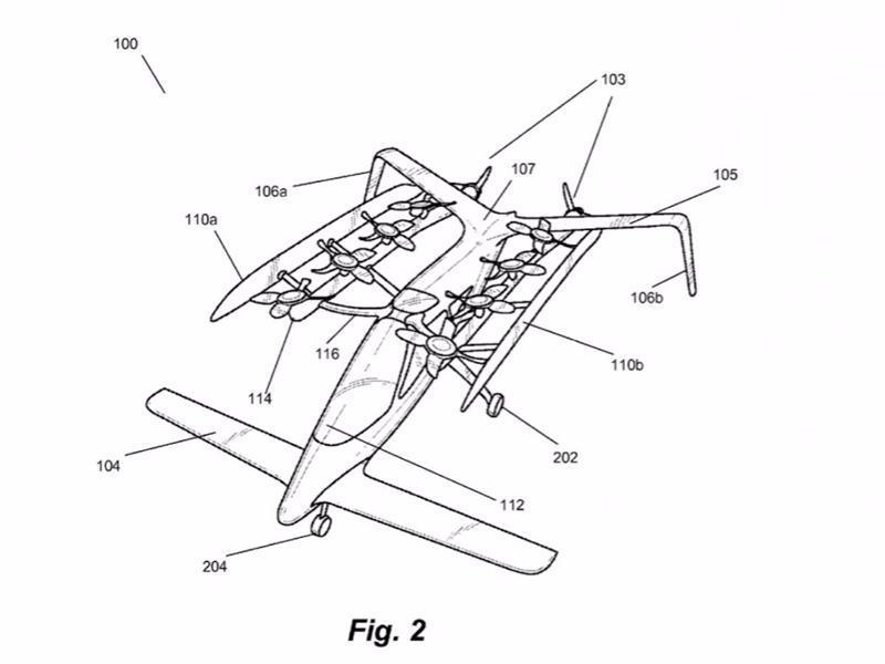 """يهتم """"بيدج"""" الآن بمشروع السيارات الطائرة وأشيع أنه استثمر 100 مليون دولار في شركتين تقنيتين تعملان على هذا المشروع."""