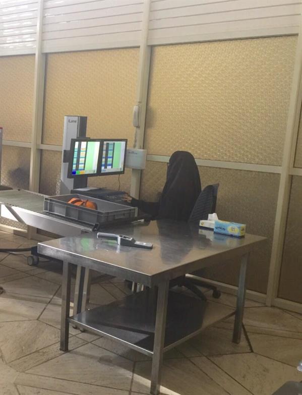 مطار الملك خالد الدولي يدشن نقاط تفتيش نسائية لأول مرة في المملكة (صور)