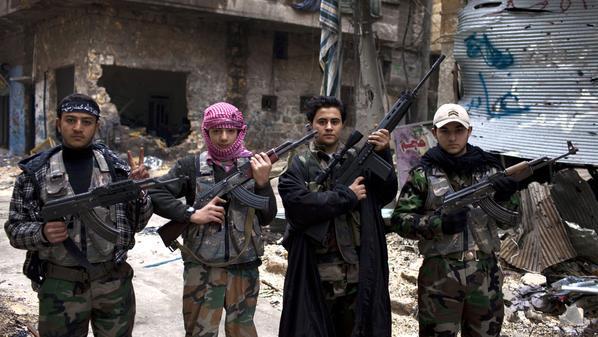 مقاتلين للجيش الحر
