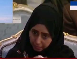 بالفيديو.. يمنية تبكي أثناء كلمة