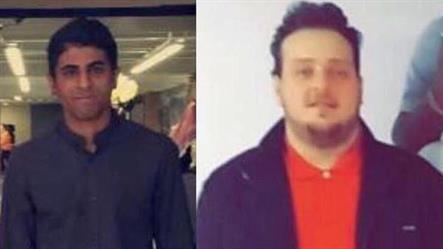 صورة للمبتعثين اللذين توفيا في موقف سيارات بأمريكا