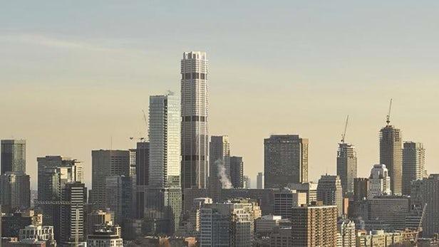 بالصور.. بدء إنشاء أعلى ناطحة سحاب في كندا