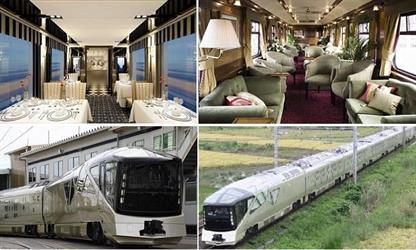 أفخم قطارات العالم