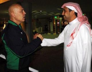 فهد بن خالد يشكر رئيس الأهلي ويودع جروس بهذه الصورة