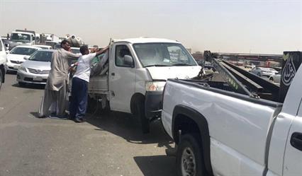 إصابة أربعة أشخاص في حادث مروري جنوب جدة