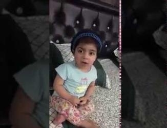 """ولي ولي العهد يوجه بعلاج الطفلة """"العنود"""" في ألمانيا.. وهي ترد عبر فيديو: """"شكرًا يا عيوني"""""""