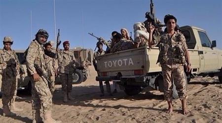 عناصر من الجيش الوطني اليمني