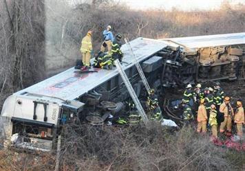إصابة 37 شخصًا إثر خروج قطار