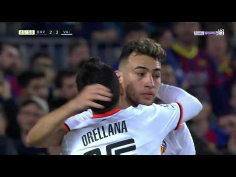 برشلونة ( 4 - 2 ) فالنسيا الدوري الاسباني