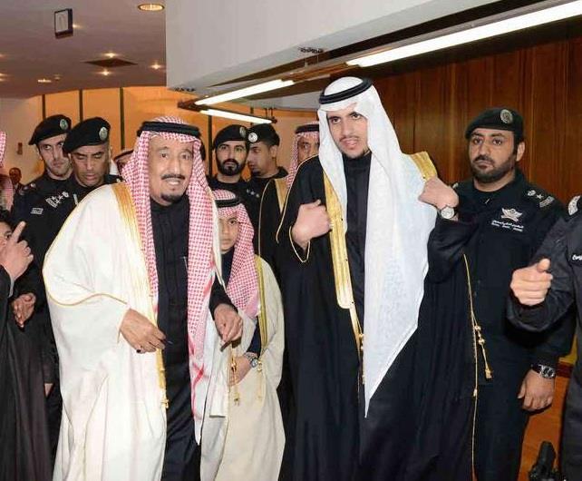 حفل زواج الأمير فهد بن عبدالرحمن