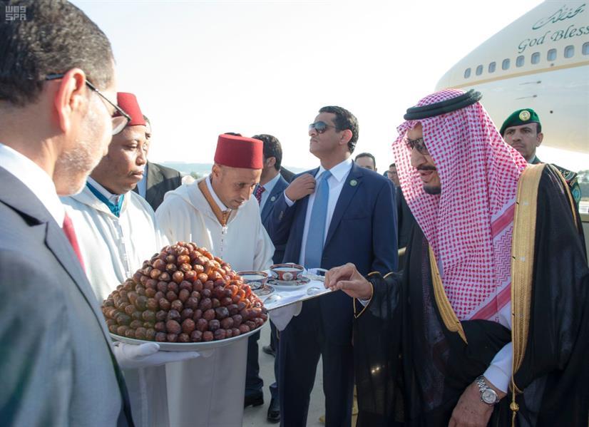 خادم الحرمين الشريفين يصل إلى المغرب في إجازة خاصة