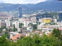 العاصمة البوسنية سراييفو