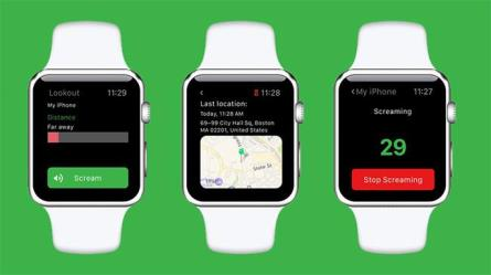 lookout apple watch app