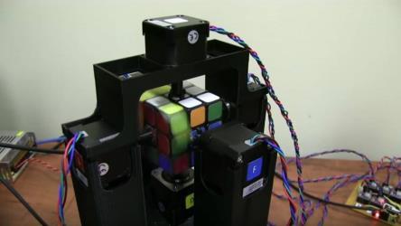 robot solve rubik cube