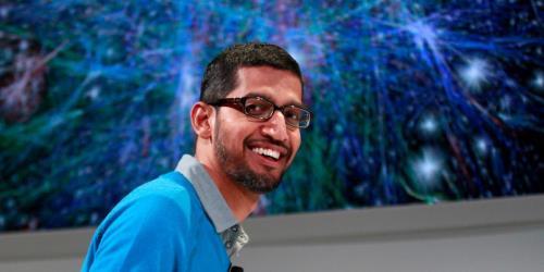 """الرئيس التنفيذي لشركة جوجل """"ساندر بيتشاي"""""""