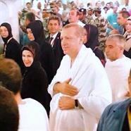 الرئيس التركي يؤدي مناسك العمرة