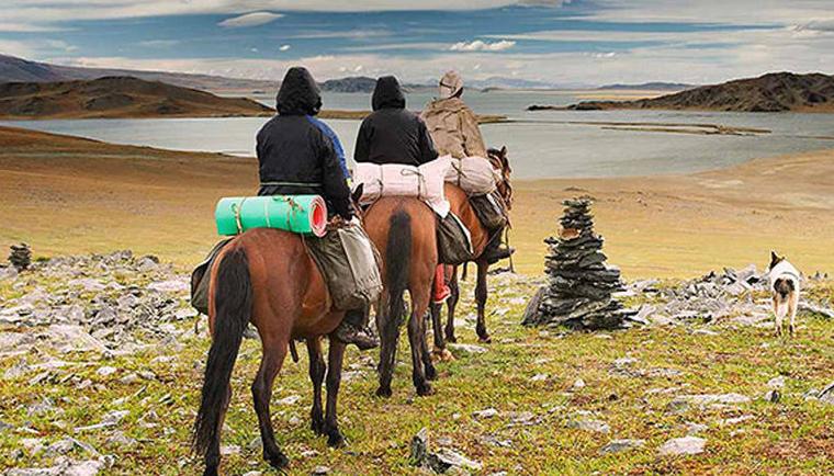 جنوب صحراء غوبي في منغوليا