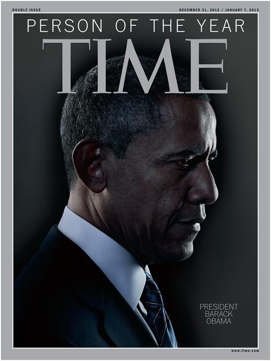 """اختارت مجلة """"تايم"""" الأمريكية """"أوباما"""" عام 2008 كشخصية العام, ثم نال بعدها جائزة نوبل للسلام، رغم اعتراض البعض على حصوله على ال"""