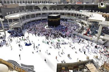 بالصور.. المسجد الحرام والكعبة المشرفة في عام
