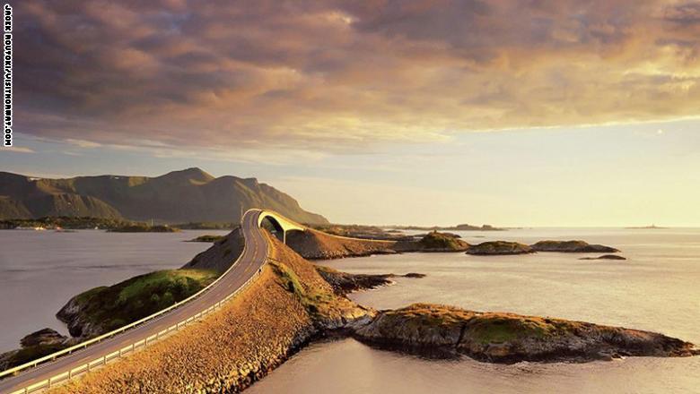 الطريق الأطلسي في النرويج،