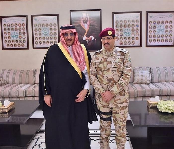 مكتب ولي العهد وزير الداخلية الأمير محمد بن نايف