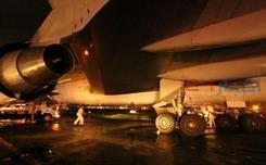 """انحراف طائرة """"السعودية"""" عن المدرج بمطار مانيلا"""