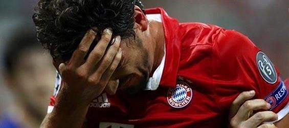 هوملز يغيب عن مواجهة بايرن ميونيخ وريال مدريد