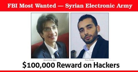 قراصنة الجيش السوري الإلكتروني