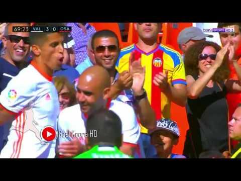 فالنسيا ( 4 - 1 ) اوساسونا الدوري الاسباني