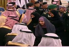 """عضوات """"الشورى"""" يعزين خادم الحرمين"""