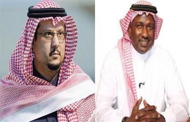 ماجد عبدالله و فيصل بن تركي