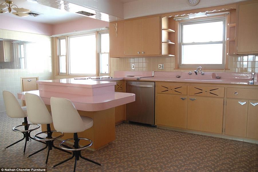 مطبخ رائع من عام 1962 ويعد تحفة في مدينة شيكاغو