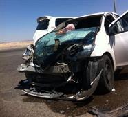 الحادث المروري