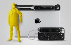 isense 3d scanner for iphone 6