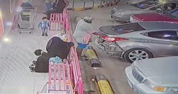 بالفيديو.. محاولة فاشلة لسرقة مواطنة