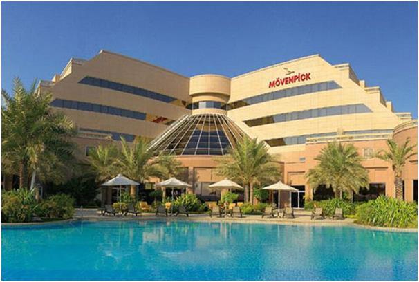 """فندق """"موفنبيك"""" على بُعد 900 متر فقط من مطار البحرين الدولي، ويطل على بحيرة شاطئية في جزيرة المحرق."""