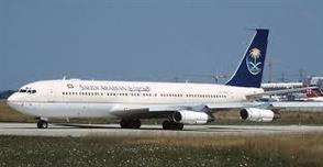 طائرة الخطوط السعودية