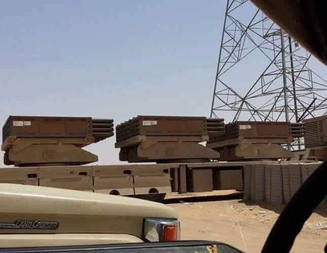 """وصول تعزيزات عسكرية كبيرة من بينها راجمات """"جهنم"""" للمشاركة في تحرير صنعاء"""