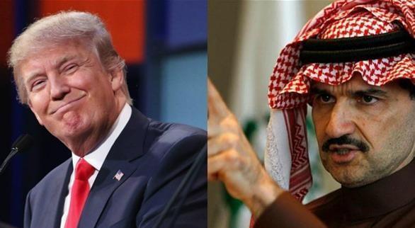 ترامب يستخدم الصور المفبركة لمواجهة الوليد بن طلال(صور)