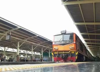 محطة بانكوك للقطارات.